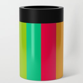 Sweet lollypop candy bright colorful stripes Can Cooler