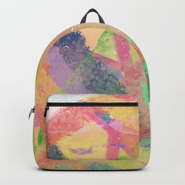 Ox design abstract pop art Backpack