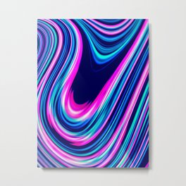 Candy Swoops Metal Print