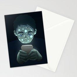 Personas Estrelladas: 02 celular Stationery Cards