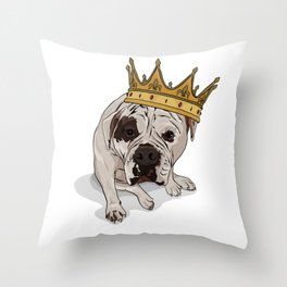 Queen Zoe Throw Pillow