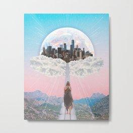 CITY OF PASTEL DREAMS III Metal Print