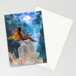 7th Dimensional Sanctuary Stationery Cards