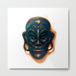 Maskara ng Kadulhi (Mask of Kadulhi) Metal Print