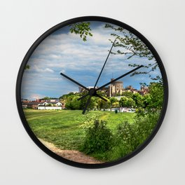 Pathway To Windsor Wall Clock