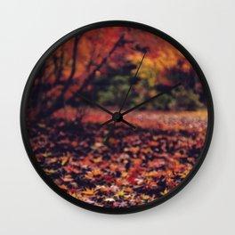 Momiji floor Wall Clock