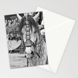 Fête médiévale, cheval Stationery Cards