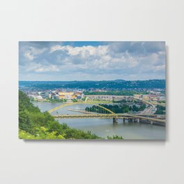 The Monongahela River Metal Print