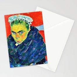 Alexej von Jawlensky - Breton peasant woman - Digital Remastered Edition Stationery Cards
