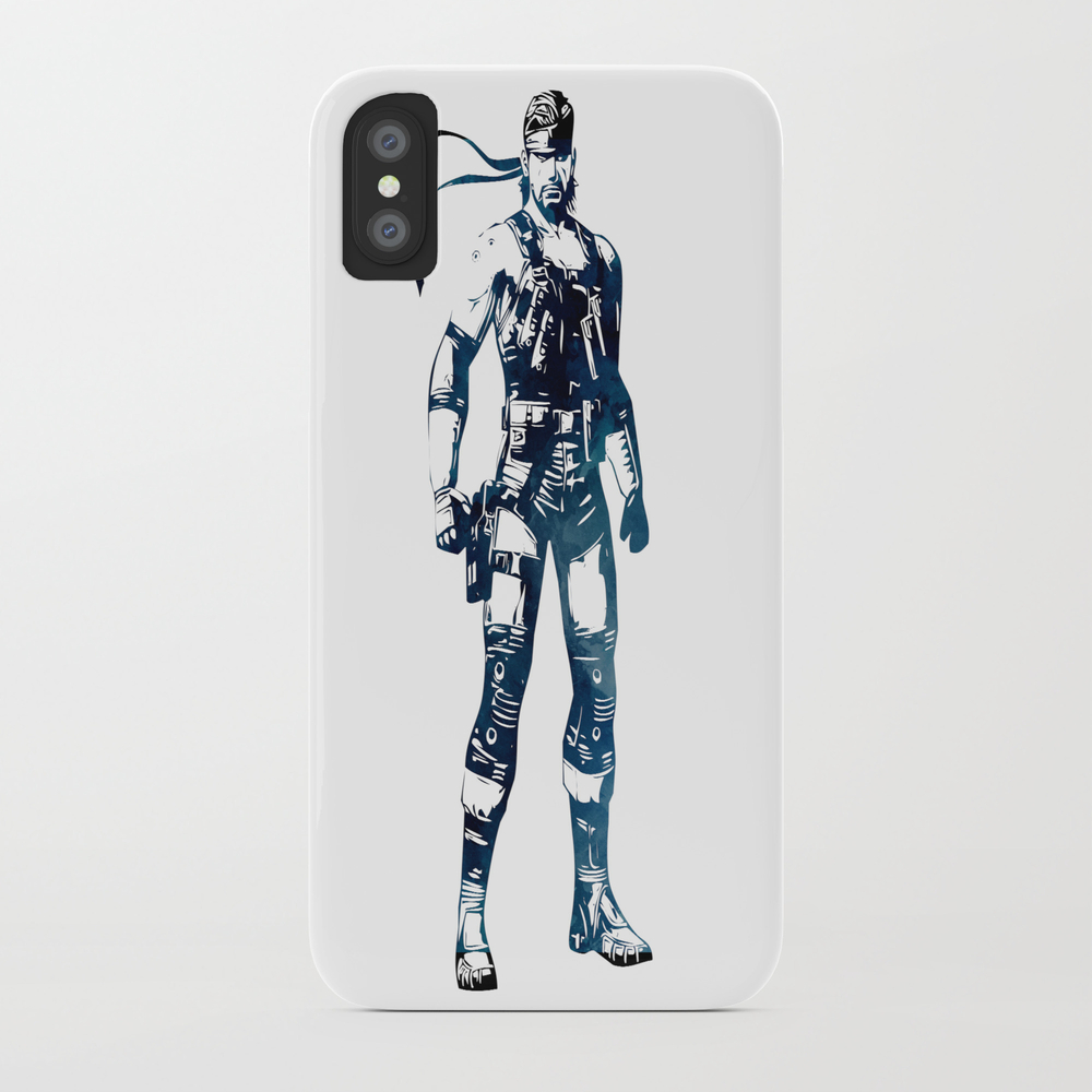 Solid Snake - Metal Gear Solid Phone Case by Naumovski PCS7742583