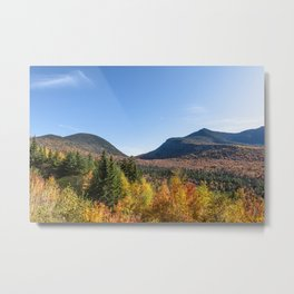 Kancamagus foliage Metal Print