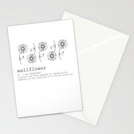 Wallflower Stationery Cards
