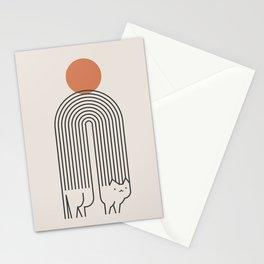Cat Landscape 94 Stationery Cards