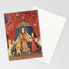 Lady and Unicorn Stationery Cards