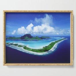 Bora Bora Serving Tray