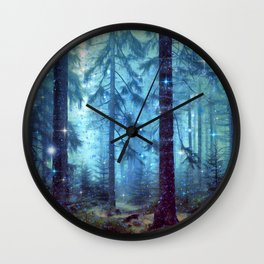 Magical Forest Wall Clock