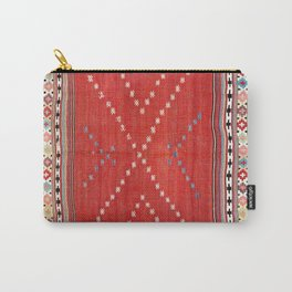 Fethiye Southwest Anatolian Camel Cover Print Carry-All Pouch