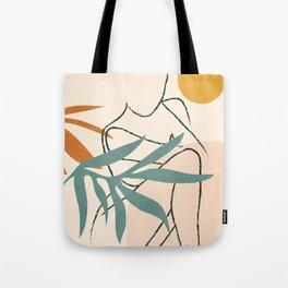 Minimal Line in Nature II Tote Bag