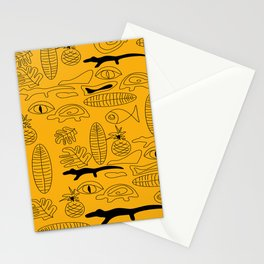 Crocodile Dream Stationery Cards