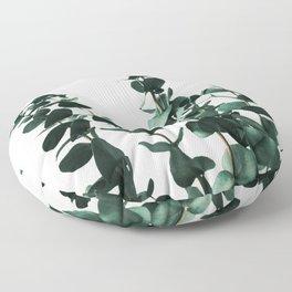 Eucalyptus Dark Green Floor Pillow