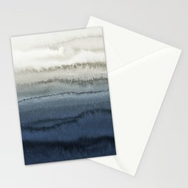 WITHIN THE TIDES - CRUSHING WAVES BLUE Stationery Cards