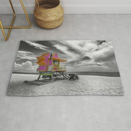 MIAMI BEACH Florida Flair Rug