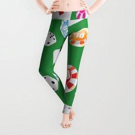 #casino #games #accessories #pattern 4 Leggings