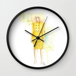 Lemon Limeade Wall Clock