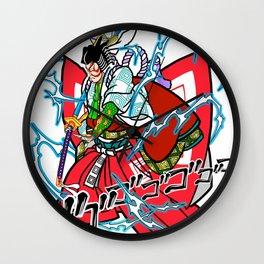 """Kabuki-Shibaraku """"Charge Ki"""" Wall Clock"""