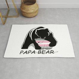 Papa Bear Demigirl Rug