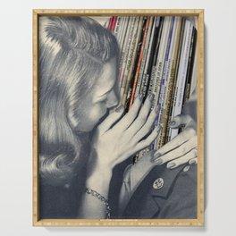 Vinyl Love Serving Tray