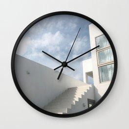 Minimal beach house  Wall Clock