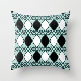 Bristle Harlequin Throw Pillow