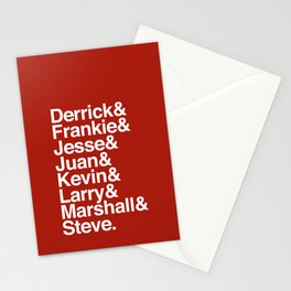 Pioneers Stationery Cards