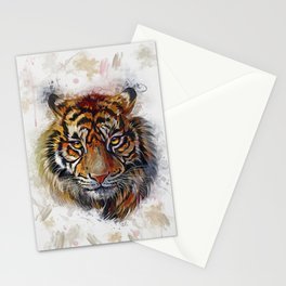 Tigers Eyes Stationery Cards