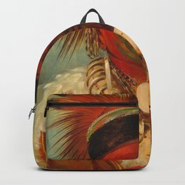 The White Cloud, Head Chief of the Iowas Backpack