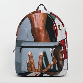 Michael Jord-an Poster Backpack