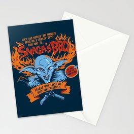 Snaga's BBQ Stationery Cards
