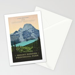 Mount Robson Provincial Park Stationery Cards