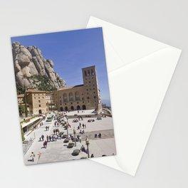 Montserrat Monastery, Catalonia Stationery Cards