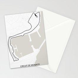 Monaco Street Circuit -  Circuit De Monaco Stationery Cards
