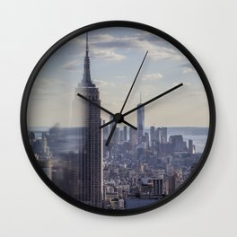 Empire State Classic View Wall Clock