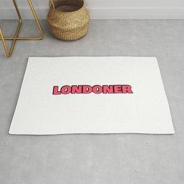 LONDONER IN RED Rug