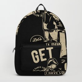 Get a life Backpack