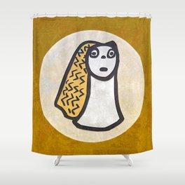 Tribal Idol #1 Shower Curtain