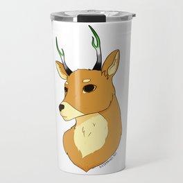 Aromantic Pride Deer Travel Mug