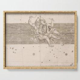 Johann Bayer - Uranometria / Measuring the Heavens (1661) - 22 Gemini Serving Tray