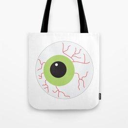 Halloween Scary Eyeball Tote Bag