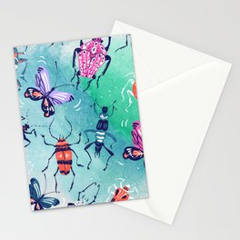 The Bugs Stationery Cards