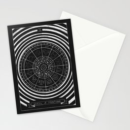 Wheel of Fortune Tarot Card Stationery Cards
